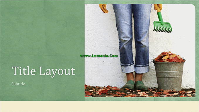 Natural Living Powerpoint Themes