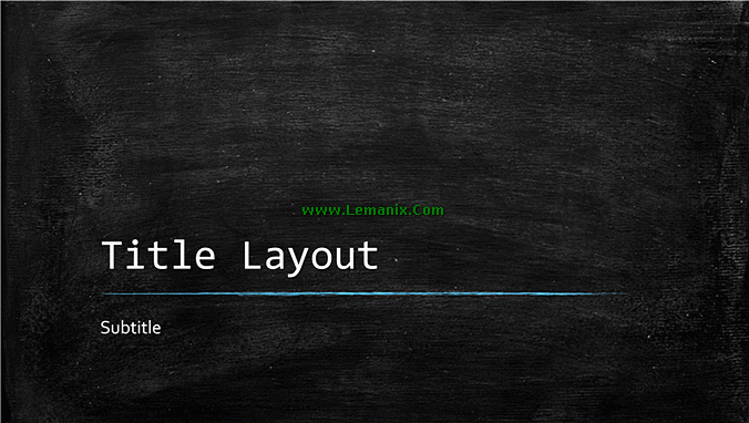 Chalkboard Education Presentation Powerpoint Themes