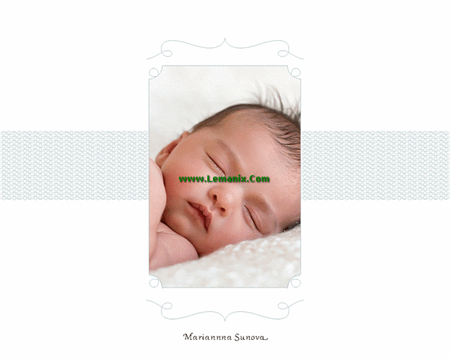 Baby Photo Album Microsoft Publisher Templates