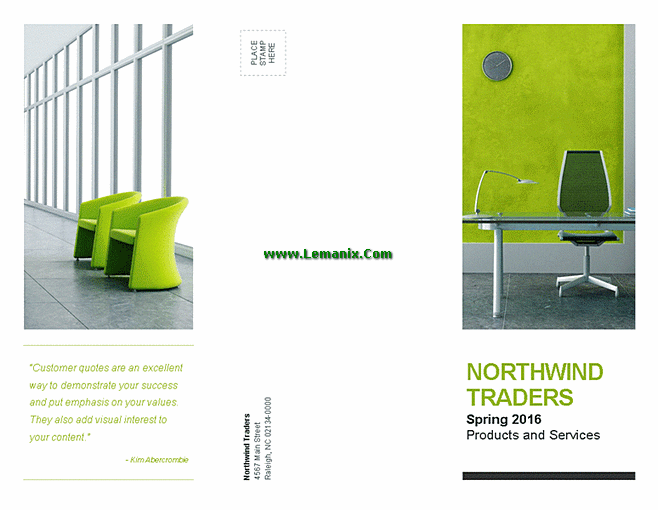 Brochure Design Microsoft Publisher Templates