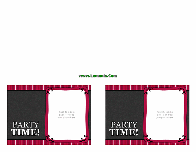 Free Publisher Templates Birthday Party Invitations