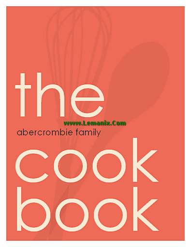 Modern Cookbook Microsoft Publisher Templates