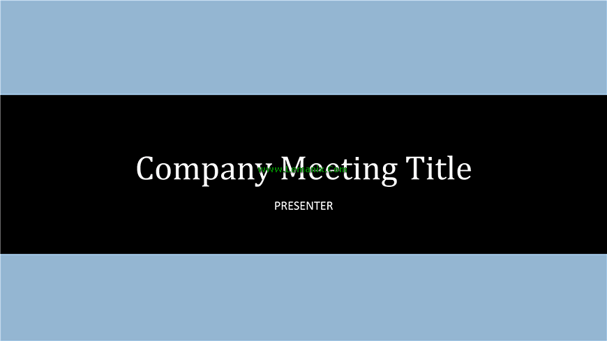 Company Meeting Powerpoint Themes