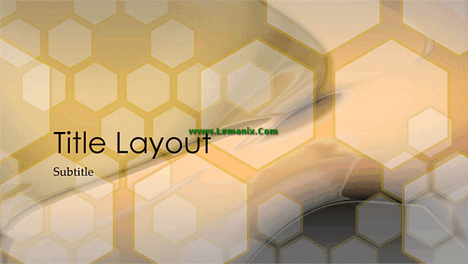 Hexagonal Powerpoint Themes Design