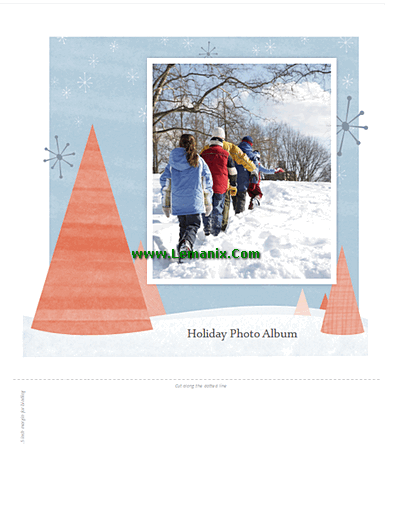 microsoft publisher photo album template