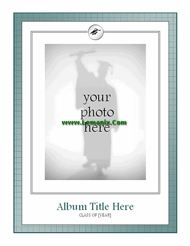 Graduation Photo Album Free Publisher Templates