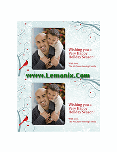 Free Holiday Photo Cards
