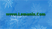 Snowflakes Design Powerpoint Themes