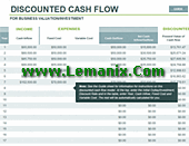 Microsoft Excel Templates For Discounted Cash Flow Model