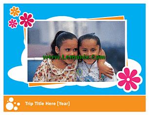 Family Vacation Photo Album Microsoft Publisher Templates