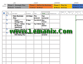 Company Business Plan Project Management Templates