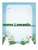Free Publisher Templates Holiday Stationery