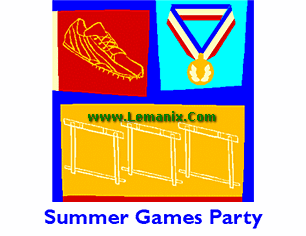 Invitation To Watch Summer Sports Games Publisher Templates