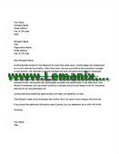 Managerial Employee Reference Letter Templates