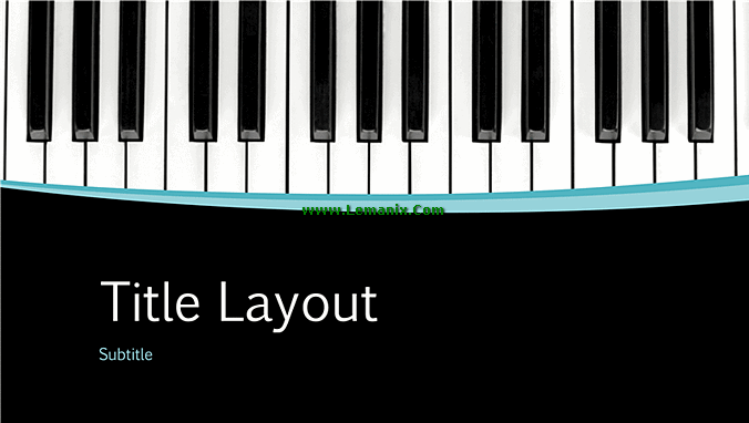 Musical Powerpoint Themes Presentation