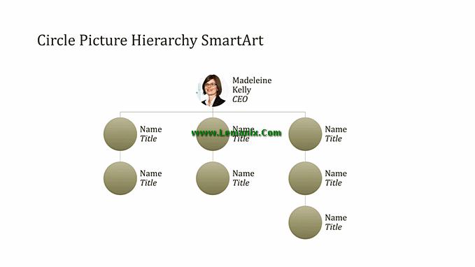 Organizational Chart Powerpoint Themes
