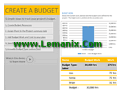 Professional Project Budget Template