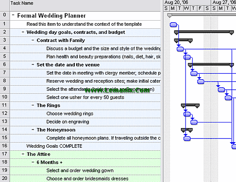 Wedding Planner Project Management Templates
