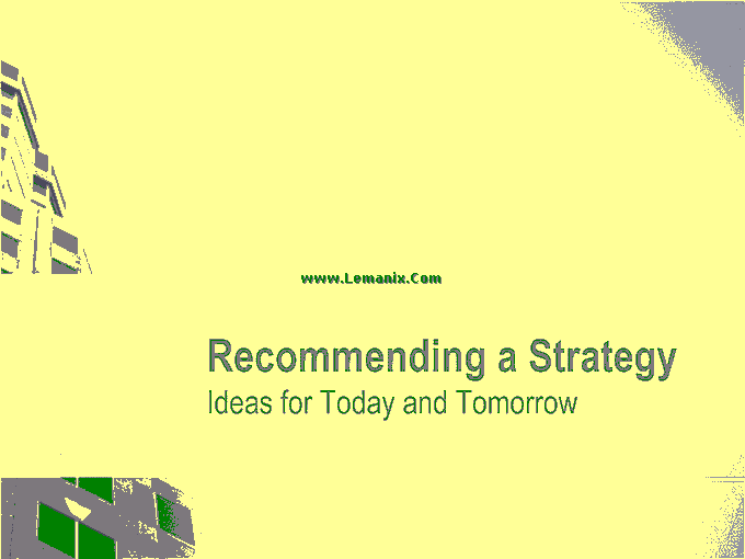 Business Strategy Powerpoint Themes 05
