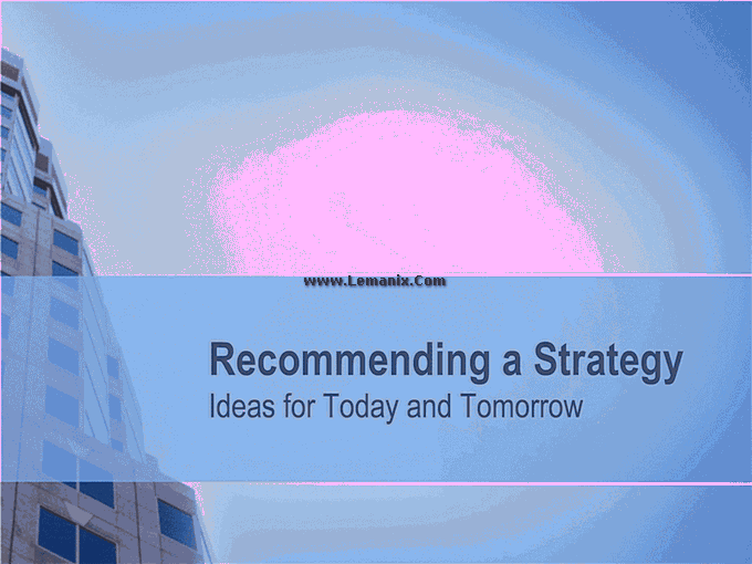 Business Strategy Powerpoint Themes 06
