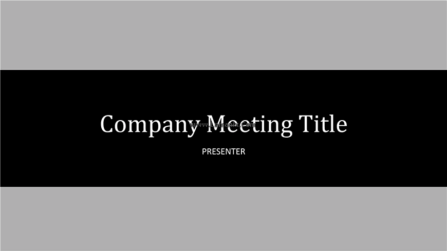 Company Meeting Powerpoint Themes 01
