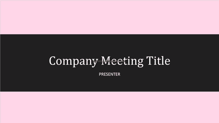 Company Meeting Powerpoint Themes 02