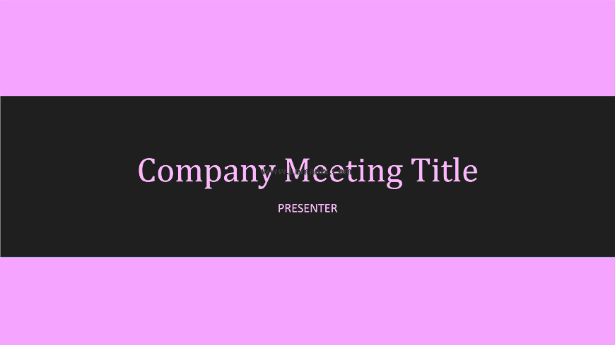 Company Meeting Powerpoint Themes 06