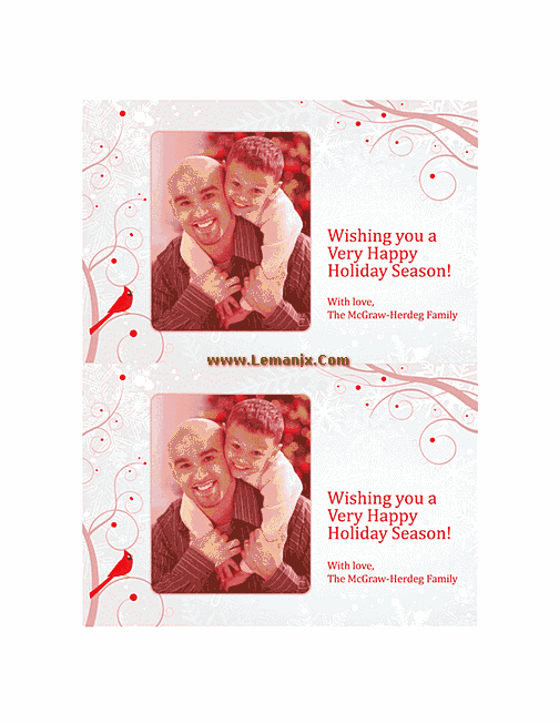 Free Holiday Photo Cards 02