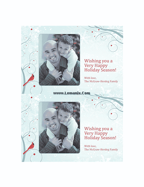 Free Holiday Photo Cards 04