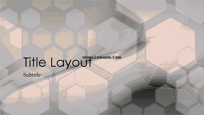 Hexagonal Powerpoint Themes Design 01