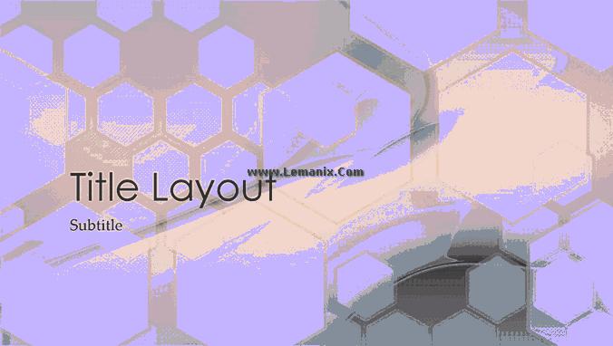 Hexagonal Powerpoint Themes Design 04