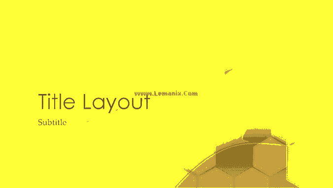 Hexagonal Powerpoint Themes Design 05