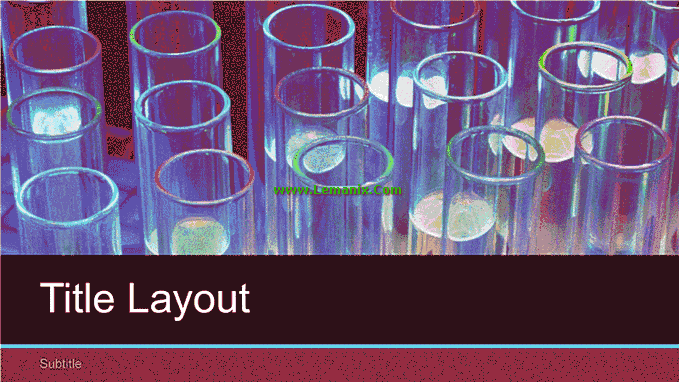 Laboratory Science Powerpoint Themes 02