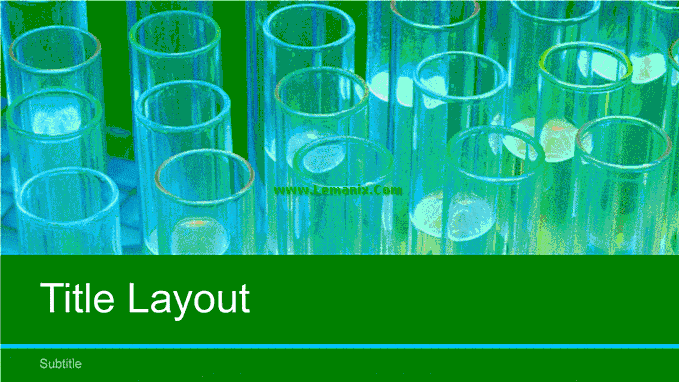 Laboratory Science Powerpoint Themes 03