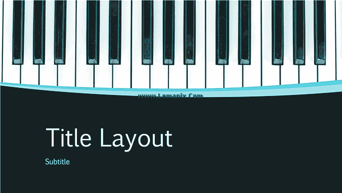 Musical Powerpoint Themes Presentation 04