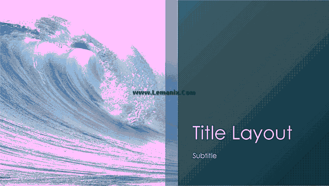 Ocean Waves Powerpoint Themes 06