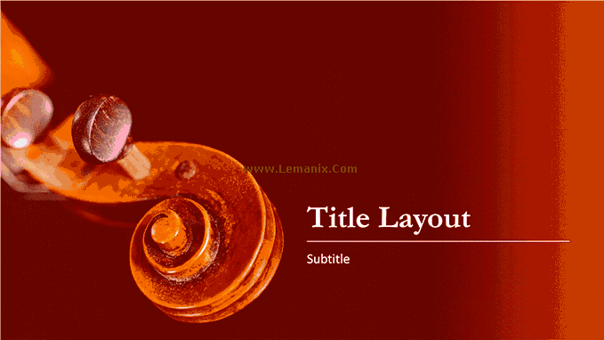 Powerpoint Themes Music 02
