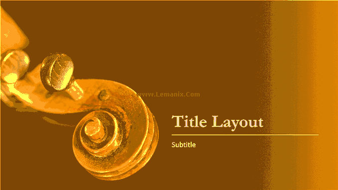 Powerpoint Themes Music 05
