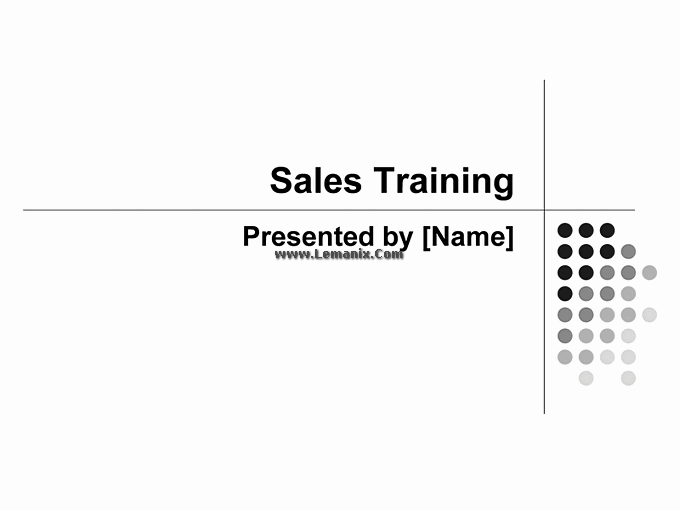 Sales Training Powerpoint Themes Presentation 01