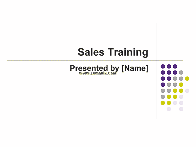 Sales Training Powerpoint Themes Presentation 02