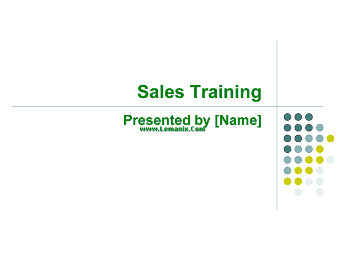 Sales Training Powerpoint Themes Presentation 03