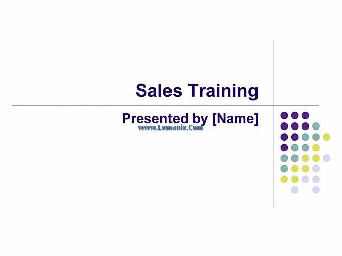 Sales Training Powerpoint Themes Presentation 04