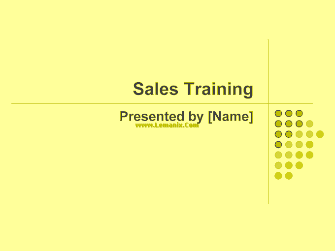 Sales Training Powerpoint Themes Presentation 05