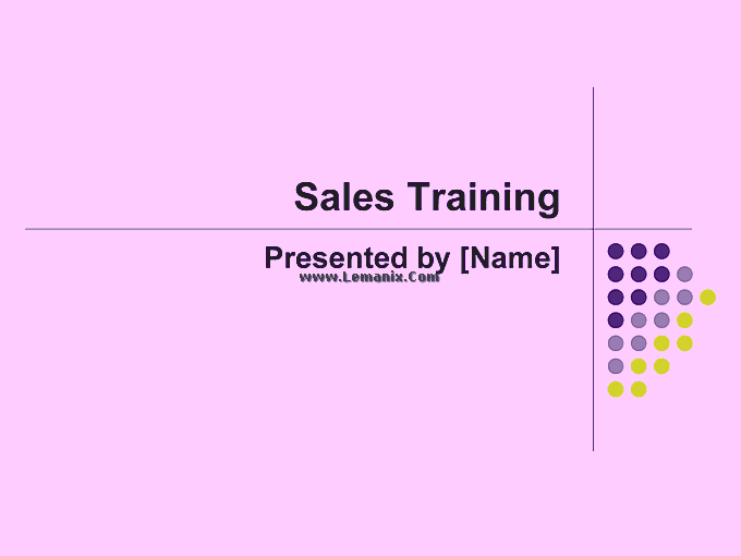 Sales Training Powerpoint Themes Presentation 06