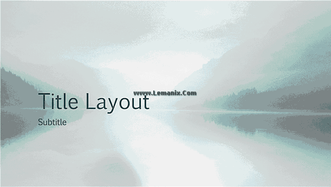 Serenity Nature Powerpoint Themes 01