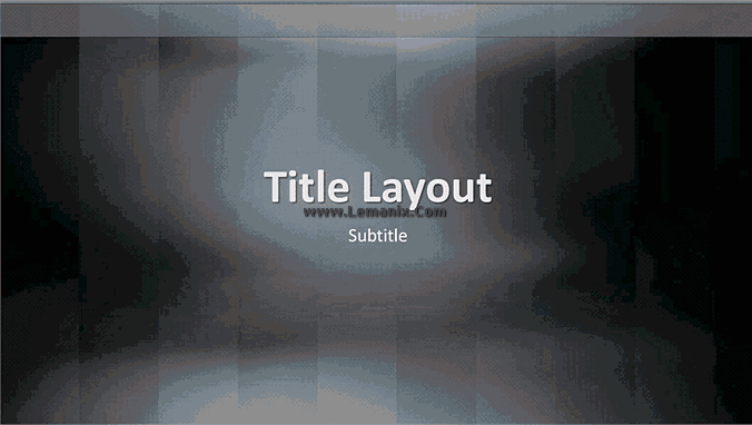 Vertical Lexicon Powerpoint Themes 01