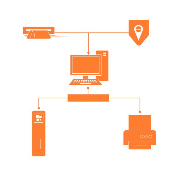Visio Shapes Detailed Network Diagram Stencils 02