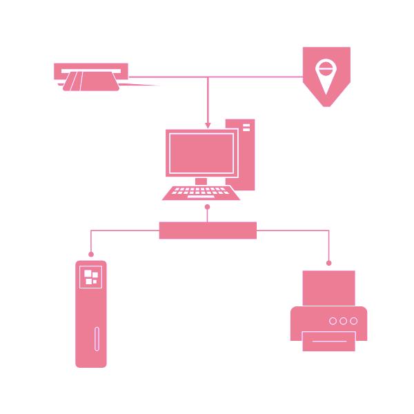 Visio Shapes Detailed Network Diagram Stencils 04