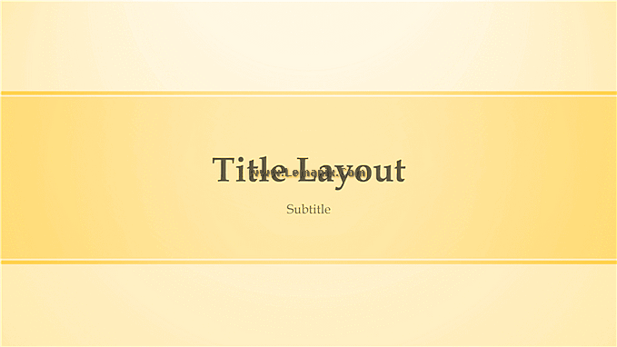 Yellow Design Powerpoint Themes 02