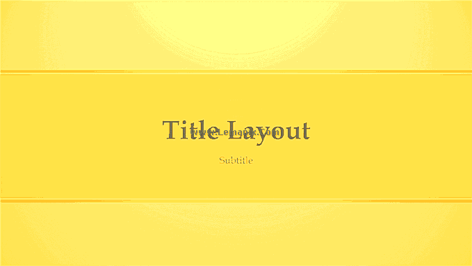 Yellow Design Powerpoint Themes 05